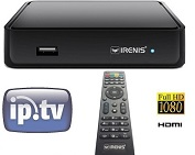 IRENIS 5500+ IPTV STB Set Top Box