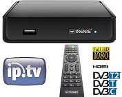 IRENIS 5700 IPTV STB DVB Hybrid Set Top Box