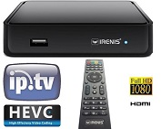 IRENIS 6500+ IPTV STB Set Top Box